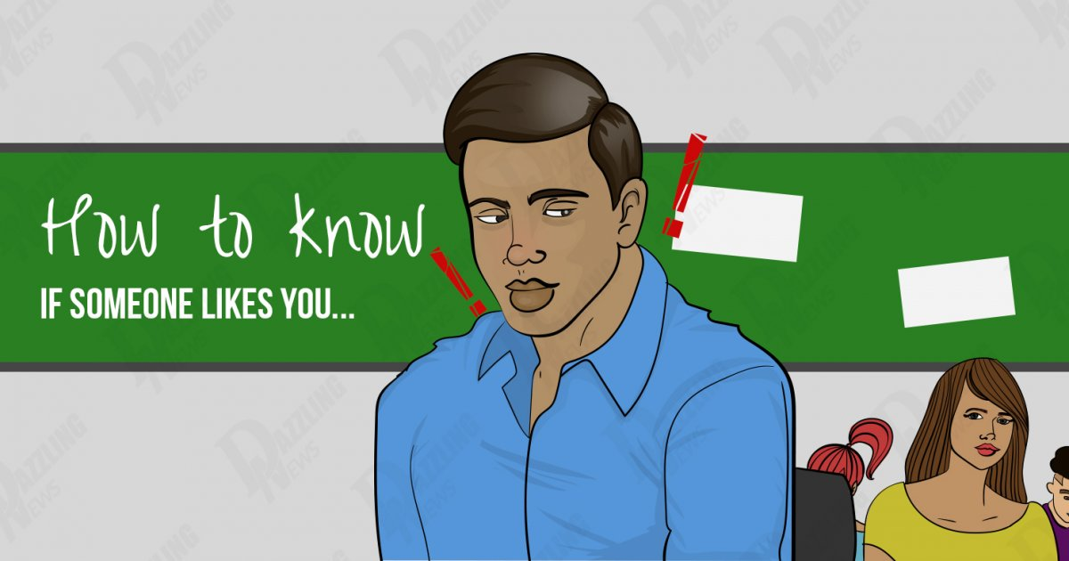 how to know that you like someone