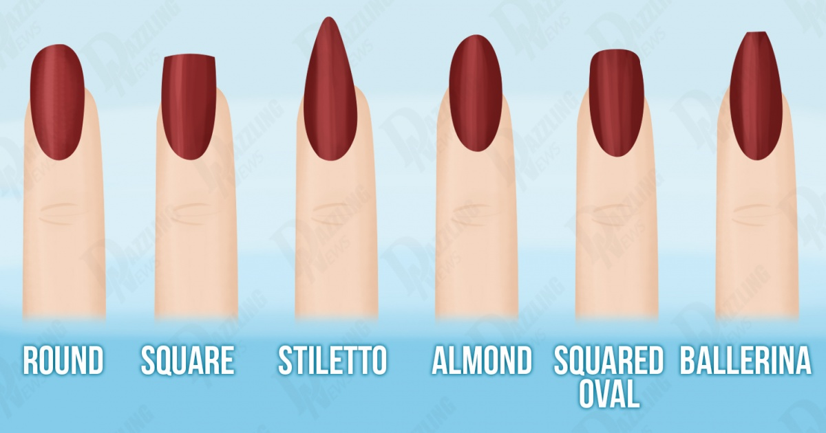 Which nail shape is the best for you? - Dazzling News